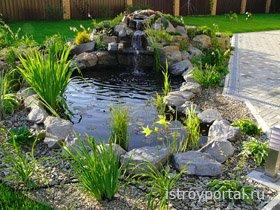 Создаем собственный декоративный ручей в саду