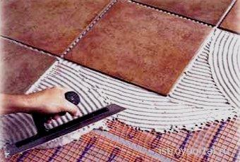Правила и секреты качественной укладки керамической плитки на пол и стены.