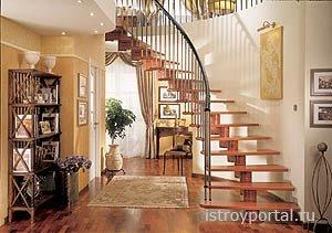 Самостоятельно конструируем лестницу