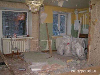 Ремонт в Хрущёвке. Перепланировка квартиры в Хрущевке