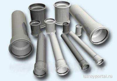 ПВХ трубы для канализационных систем