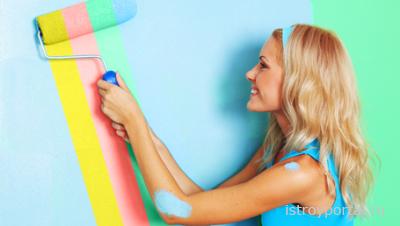 Декоративные краски сделают помещение оригинальным