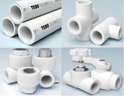 Водопроводные полипропиленовые трубы