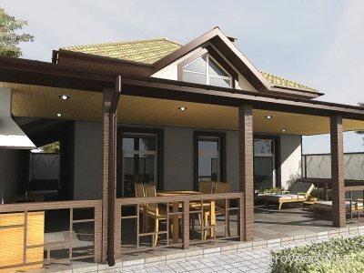 Дизайн загородных домов и коттеджей