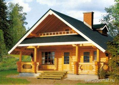Уютные и экологические дома из клееного бруса.
