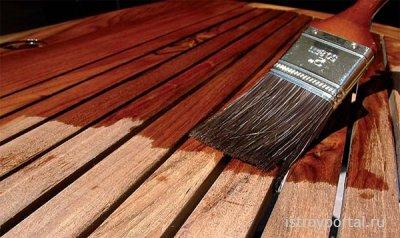 Защита древесины. Антисептик «Сенеж»