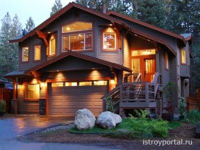 Особенности освещения загородного дома