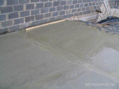 Подготовка бетонного основания для настила полимерного пола