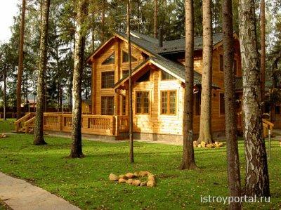 Уход за деревянными постройками