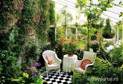Как спроектировать зимний сад в своем коттедже?