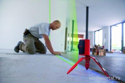 Лазерные измерительные приборы упрощают строительные работы