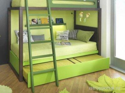 Как собрать детскую двухъярусную кровать