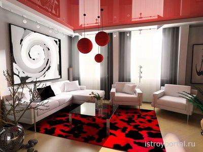 Разнообразие вариантов фактур для натяжных потолочных конструкций