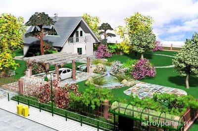 Как украсить свой двор?