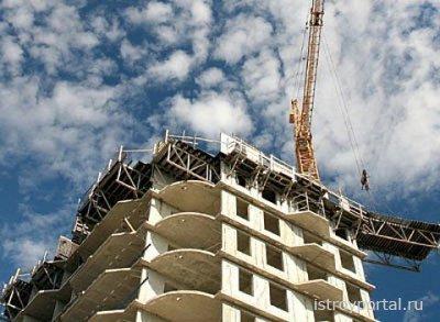 В России растут объемы строительства жилых домов