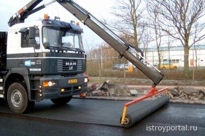 Использование геотекстиля в дорожном строительстве