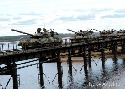 Мост под Ярославлем прошел испытание танками