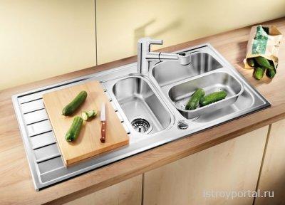 Как выбрать хорошую мойку на свою кухню?