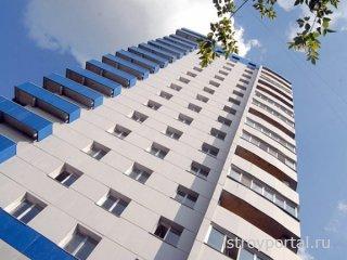 В прошлом месяце построили 65,7 тысяч квартир