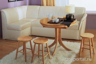 Кухонные диваны со спальным местом: преимущества, нюансы выбора и покупки