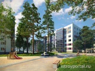 Шведские строители построят жилой квартал в Санкт-Петербурге