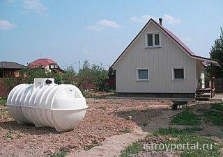 Как обеспечить на даче очистку сточных вод?