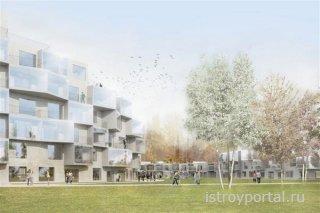Проект Sauerbruch Hutton победил на престижном архитектурном конкурсе