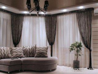 Какие шторы лучше подойдут в комнату?