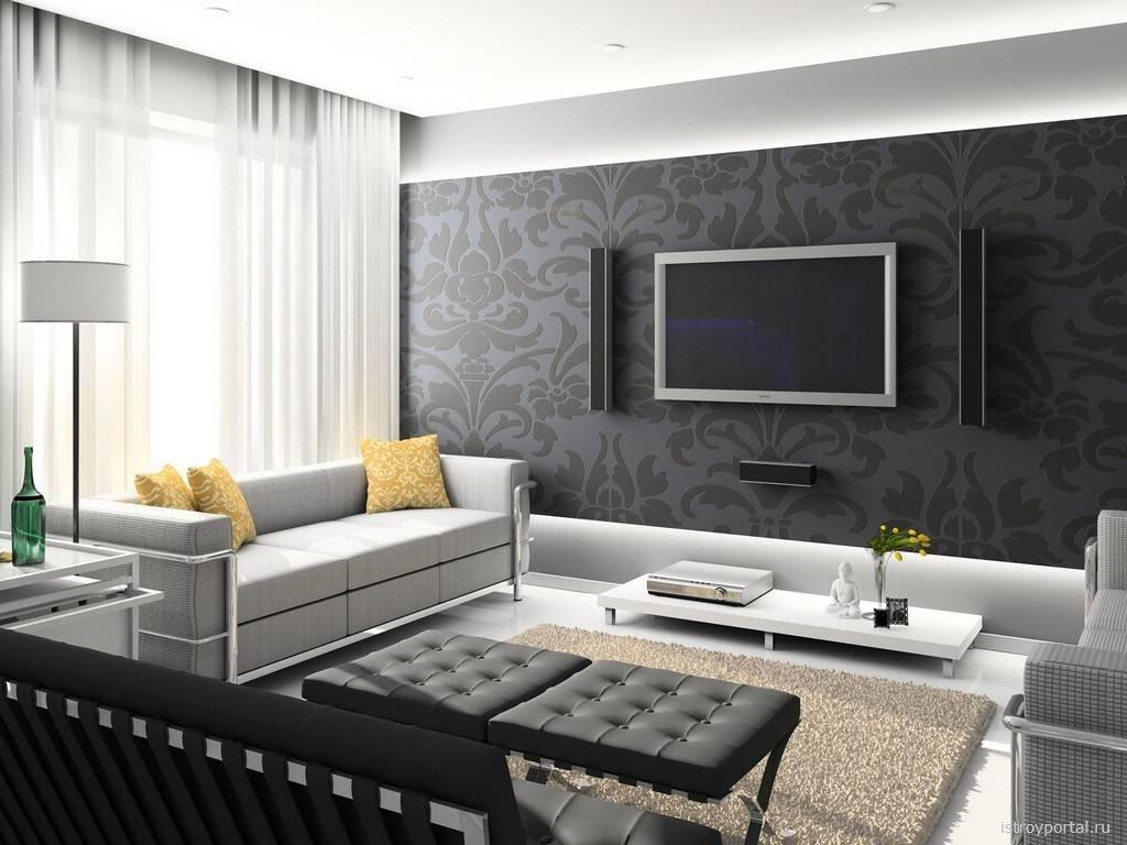 Дизайн встроенного шкафа в гостиной