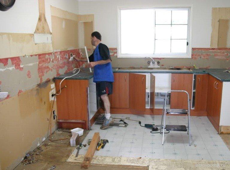 Своими руками кухня в квартире