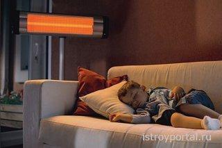 Инфракрасные обогреватели – для дома и производственных площадей