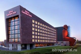 Отель Хилтон теперь и в Москве