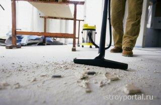 Как сделать уборку в квартире после ремонта быстрой и приятной?