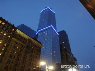 В Нью-Йорке открылся самый высокий отель Америки