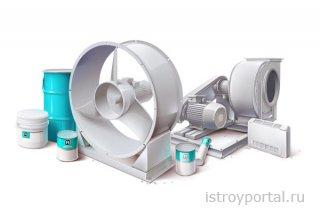 Вентиляционное оборудование в разных типах помещений