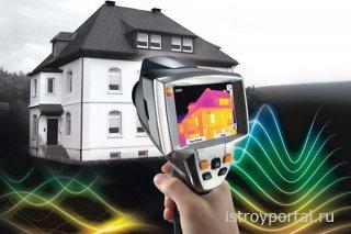 Зачем строители используют тепловизор