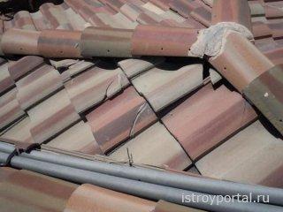 Как ремонтировать черепичную крышу