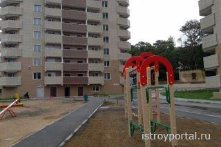 В жилом комплексе северной столицы России начато создание социальной инфрас ...