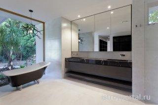 Оформление ванных комнат доступными способами