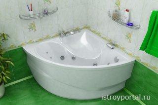 Ванна – прямоугольная или угловая?
