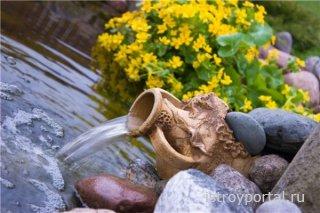 Выбираем фонтан для дачи