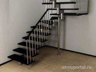 Лестница как незаменимая часть интерьера загородного дома