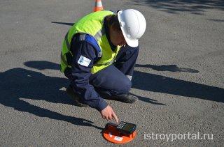 В Москве проведены проверки качества дорожного полотна