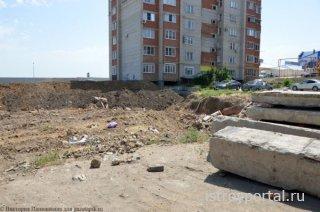 Фундамент жилого дома может пострадать от неаккуратности строителей