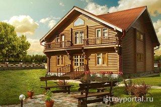 Деревянный дом – образ, сохраненный веками