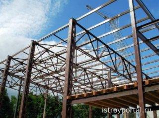 Как правильно произвести монтаж металлоконструкций