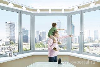 Пластиковые окна REHAU для надёжной защиты от потерь тепла