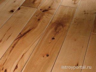 Технология укладки деревянного пола