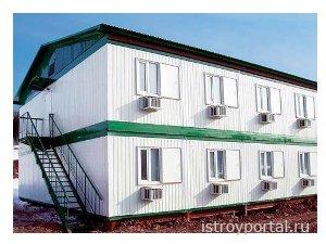 Модульные здания на строительных объектах