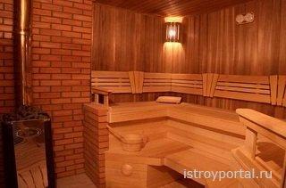 Как строят современные бани?